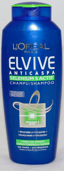 CHAMPU ELVIVE 300 ML -ANTICASPA INTENS.GRASO