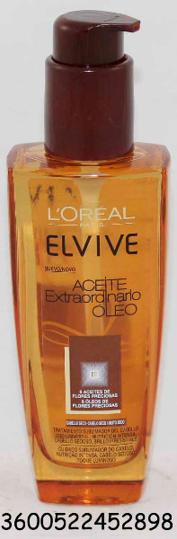 ACEITE CAPILAR EXT. ELVIVE CAB.SECO 100 ML