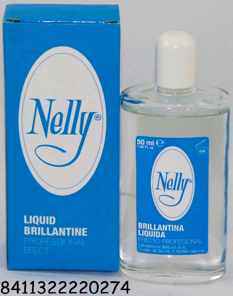 BRILLANTINA LIQUIDA NELLY 50 ML.
